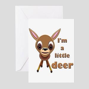 Baby Reindeer Greeting Cards (Pk of 10)
