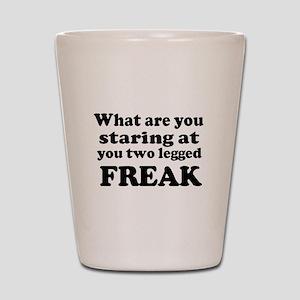 Two legged Freak Shot Glass