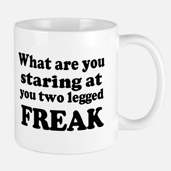 Two legged Freak Mug