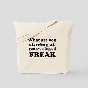 Two legged Freak Tote Bag