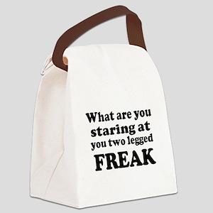 Two legged Freak Canvas Lunch Bag