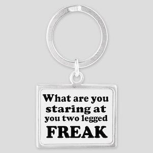 Two legged Freak Keychains