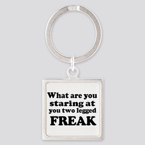 Two legged Freak Keychains