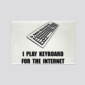 Keyboard Internet Rectangle Magnet (10 pack)