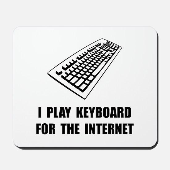 Keyboard Internet Mousepad
