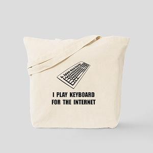 Keyboard Internet Tote Bag