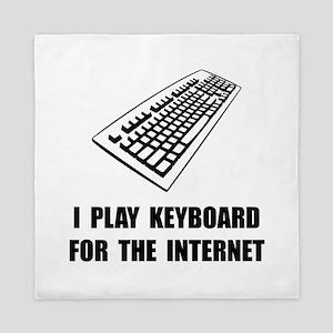 Keyboard Internet Queen Duvet
