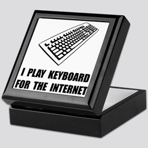 Keyboard Internet Keepsake Box