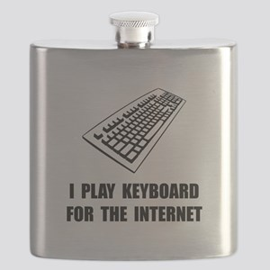 Keyboard Internet Flask