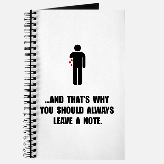 Leave A Note Journal