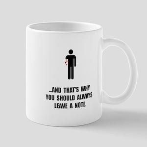 Leave A Note Mug