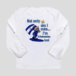 cute_elsalvadorian Long Sleeve T-Shirt