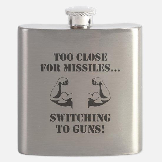 Missiles To Guns Flask