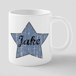 Jake (blue star) Mugs