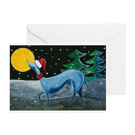 Greyhound, Italian Greyhound, Greeting Cards (6)