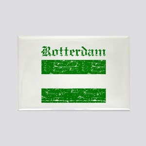 Rotterdam City Flag Rectangle Magnet