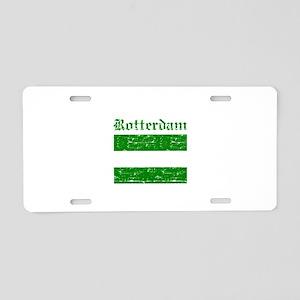 Rotterdam City Flag Aluminum License Plate
