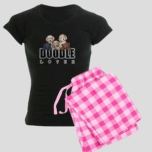 Doodle Lover Women's Dark Pajamas