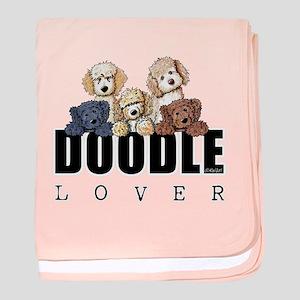 Doodle Lover baby blanket