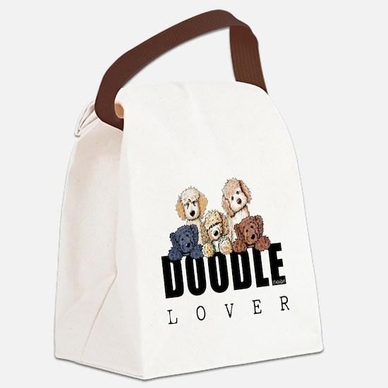 Doodle Lover Canvas Lunch Bag