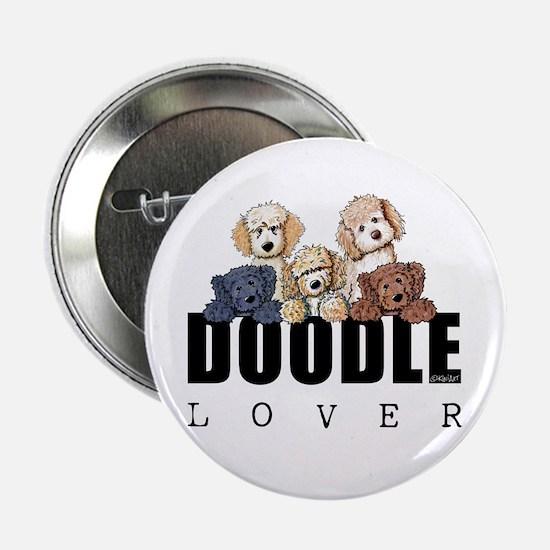 "Doodle Lover 2.25"" Button"