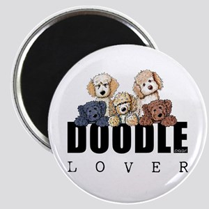 Doodle Lover Magnet