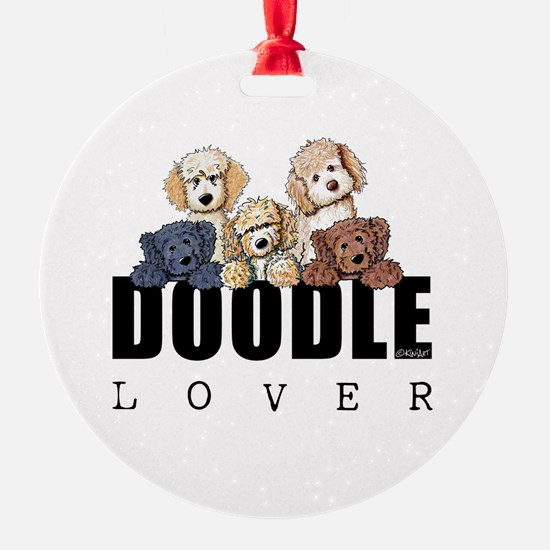 Doodle Lover Ornament