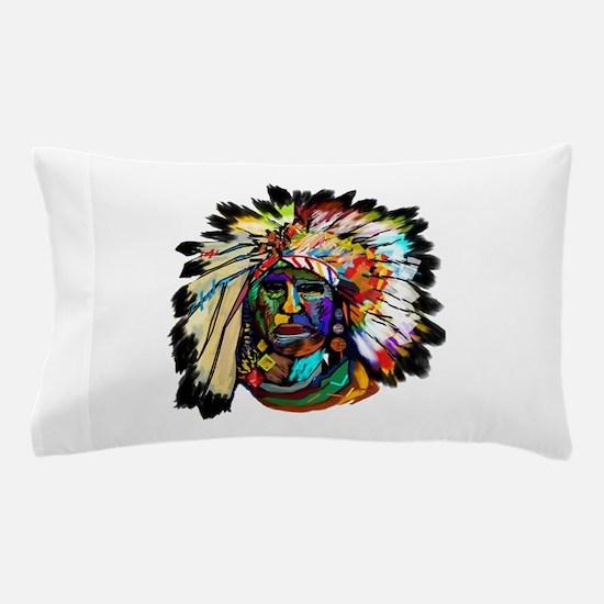 Unique Shamanic Pillow Case