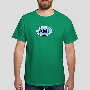 Anna Maria Island - Map Design. Dark T-Shirt