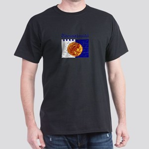 Thessaloniki City Flag Dark T-Shirt