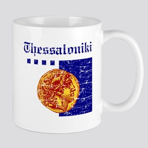 Thessaloniki City Flag Mug