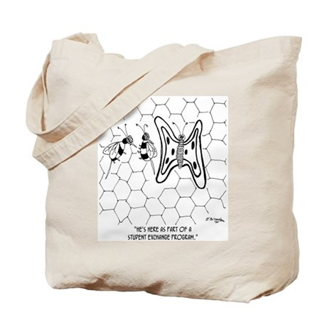 Student Exchange Program for Butterfly Tote Bag