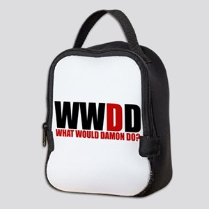 What Would Damon Do Neoprene Lunch Bag