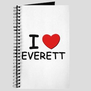 I love Everett Journal