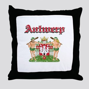 Antwerp designs Throw Pillow