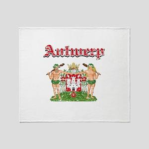 Antwerp designs Throw Blanket