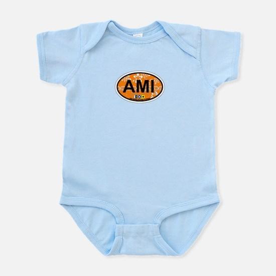 Anna Maria Island - Map Design. Infant Bodysuit