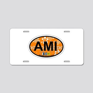 Anna Maria Island - Map Design. Aluminum License P