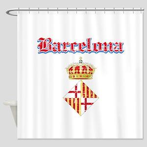 Barcelona designs Shower Curtain