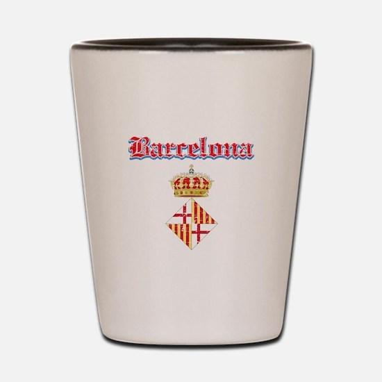 Barcelona designs Shot Glass