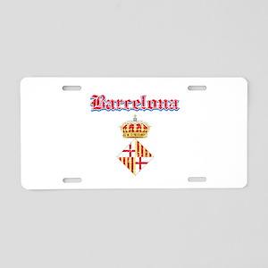 Barcelona designs Aluminum License Plate