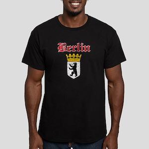 Berlin designs Men's Fitted T-Shirt (dark)