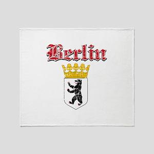 Berlin designs Throw Blanket