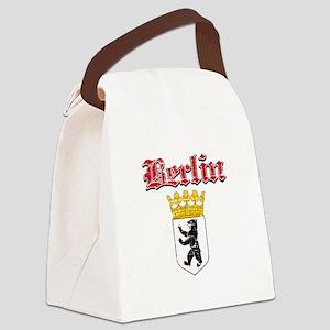 Berlin designs Canvas Lunch Bag