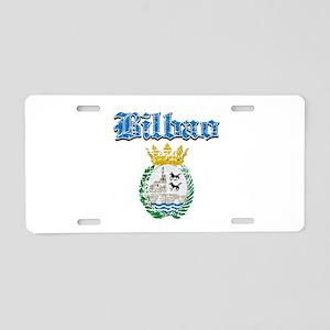 Bilbao designs Aluminum License Plate