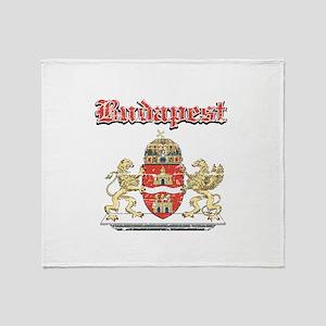 Budapest designs Throw Blanket