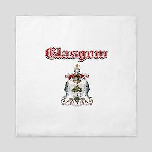 Glasgow designs Queen Duvet