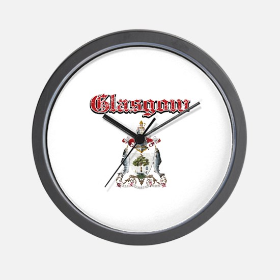 Glasgow designs Wall Clock