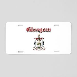 Glasgow designs Aluminum License Plate