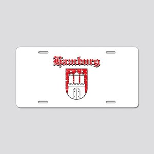 Hamburg designs Aluminum License Plate